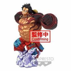 One Piece BWFC 3 Super Master Stars Piece Figure Monkey D. Luffy Gear4 Two Dimensions (Banpresto)