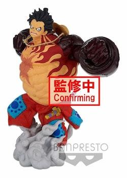 One Piece BWFC 3 Super Master Stars Piece Figure Monkey D. Luffy Gear4 The Original (Banpresto)