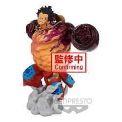 One Piece BWFC 3 Super Master Stars Piece Figure Monkey D. Luffy Gear4 The Brush (Banpresto)