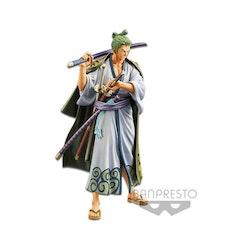 One Piece Grandline Men Wanokuni Vol. 2 Figure Zoro (Banpresto)