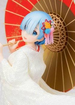 Re:Zero Starting Life in Another World 1/7 Figure Rem Shiromuku Ver. (FuRyu)