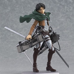 Attack on Titan Figma Action Figure Levi (Max Factory)