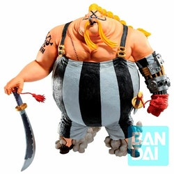 One Piece Ichibansho Figure Queen The Fierce Men Who Gathered At The Dragon (Bandai Spirits)