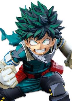 My Hero Academia Colosseum Super Master Stars Piece Figure Izuku Midoriya Two Dimensions (Banpresto)
