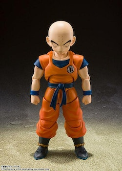 Dragon Ball Super S.H. Figuarts Action Figure  Krillin Earth's Strongest Man (Tamashii Nations)