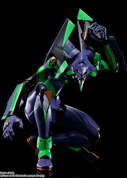 Evangelion 3.0+1.0 DYNACTION Action Figure Test Type-01 + Spear of Cassius Renewal Color Ed. (Tamashii Nations)