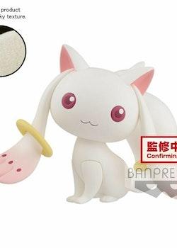 Puella Magi Madoka Magica Fluffy Puffy Figure Kyubey (Banpresto)
