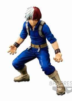 My Hero Academia Super Master Stars Piece Figure Shoto Todoroki The Brush (Banpresto)