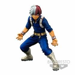 My Hero Academia Super Master Stars Piece Figure Shoto Todoroki Two Dimensions (Banpresto)