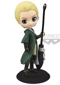 Harry Potter Q Posket Figure Draco Malfoy Quidditch Style Ver. (Banpresto)