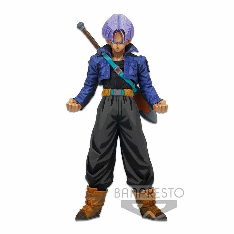 Dragon Ball Z Master Stars Piece Figure Trunks Manga Dimensions (Banpresto)