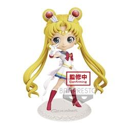 Sailor Moon Eternal Q Posket Figure Super Sailor Moon ver. A (Banpresto)