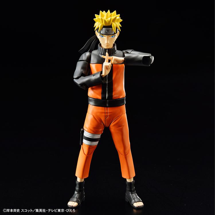 Naruto Shippuden Figure Rise Model Kit Uzumaki Naruto (Bandai)