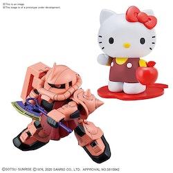 SD Hello Kitty / Char's Zaku Model Kit