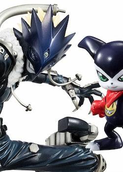 Digimon Tamers G.E.M. Series Figure Beelzebumon & Impmon (Megahouse)