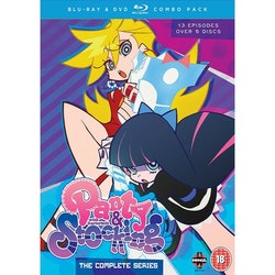 Panty & Stocking With Garter Belt Complete Series Combi Blu-ray/DVD