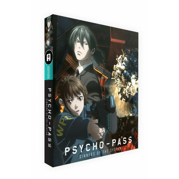 Psycho-Pass: Sinners of the System Collector's Edition Blu-Ray