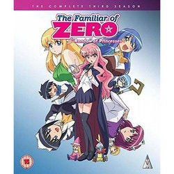 The Familiar of Zero Season 3 Collection Blu-Ray