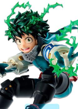 My Hero Academia Go and Go! Ichibansho Figure Izuku Midoriya (Bandai Spirits)
