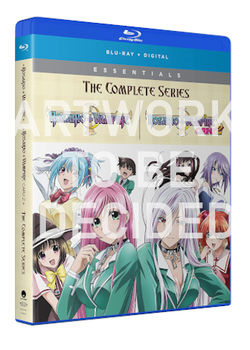 Rosario+Vampire Season's 1 & 2 Collection Blu-Ray