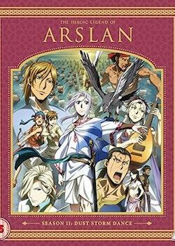 The Heroic Legend of Arslan Season 2 Collection Blu-Ray