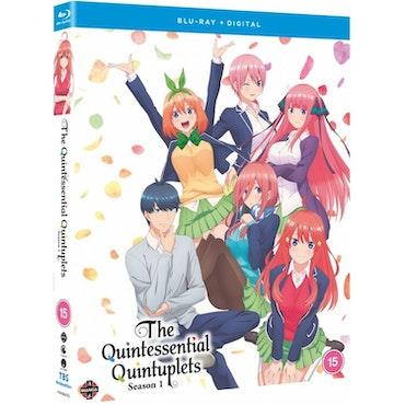 The Quintessential Quintuplets Season 1 Blu-Ray