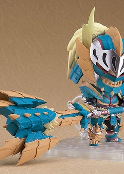 Monster Hunter World Iceborne Nendoroid Action Figure Hunter Male Zinogre Alpha Armor (Capcom)