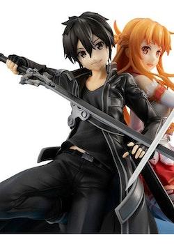 Sword Art Online Lucrea Figure Kirito & Asuna 10th Anniversary (Megahouse)