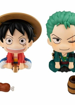 One Piece Look Up Figures Luffy & Zoro (Megahouse)