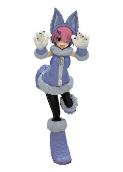 Re:ZERO SSS Figure Ram The Wolf and the Seven Kids (FuRyu)