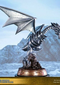 Yu-Gi-Oh! Figure Blue-Eyes White Dragon Silver Edition (First 4 Figures)