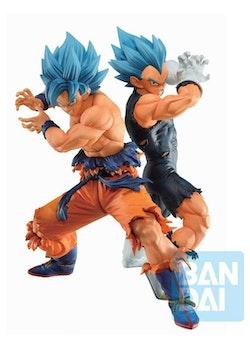 Dragon Ball Super Ichibansho Figures SSGSS Son Goku & SSGSS Vegeta VS Omnibus Super (Bandai Spirits)