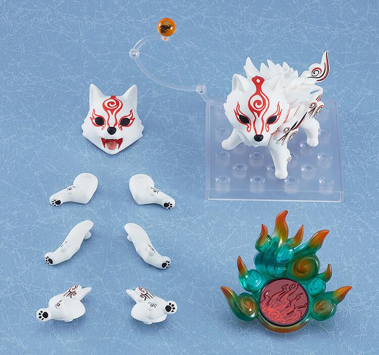 Okami Nendoroid Action Figure Shiranui (Good Smile Company)
