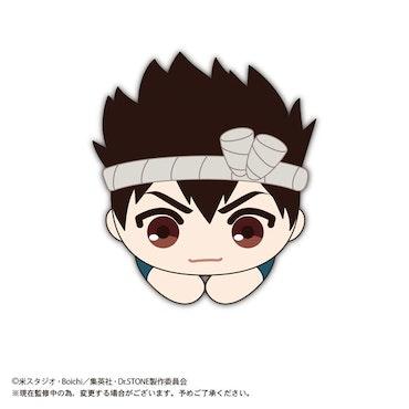 Dr. STONE Hug Chara Plush Chrome (Takara Tomy)