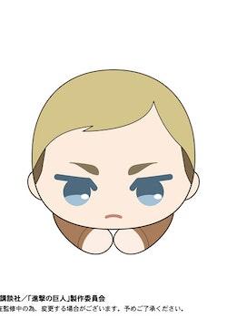 Attack on Titan Hug Chara Plush Erwin Smith (Takara Tomy)