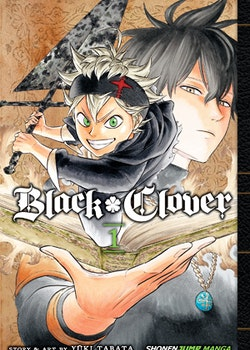 Black Clover Manga vol. 1 (Viz Media)