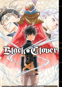 Black Clover Manga vol. 2 (Viz Media)