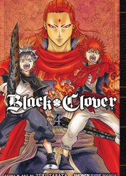 Black Clover Manga vol. 4 (Viz Media)
