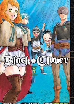 Black Clover Manga vol. 5 (Viz Media)