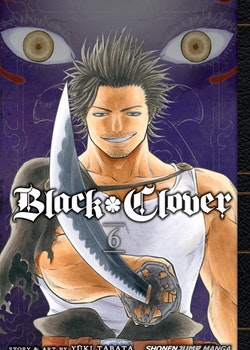 Black Clover Manga vol. 6 (Viz Media)