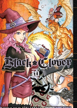Black Clover Manga vol. 10 (Viz Media)