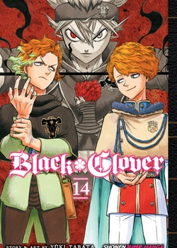 Black Clover Manga vol. 14 (Viz Media)
