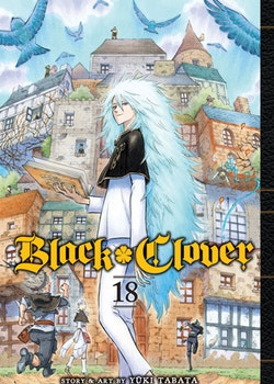 Black Clover Manga vol. 18 (Viz Media)