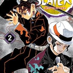 Demon Slayer: Kimetsu no Yaiba vol. 2 (Viz Media)