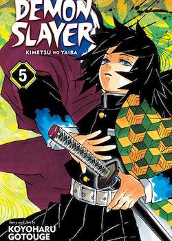 Demon Slayer: Kimetsu no Yaiba vol. 5 (Viz Media)