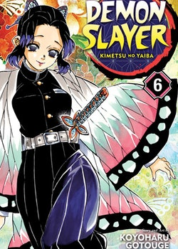 Demon Slayer: Kimetsu no Yaiba vol. 6 (Viz Media)