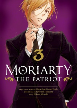 Moriarty the Patriot vol. 3 (Viz Media)