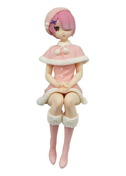 Re:Zero Noodle Stopper Figure Ram Snow Princess (FuRyu)