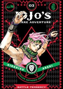 JoJo's Bizarre Adventure: Part 2 Battle Tendency vol. 3 (Viz Media)