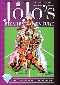 JoJo's Bizarre Adventure: Part 4 Diamond Is Unbreakable vol. 7 (Viz Media)